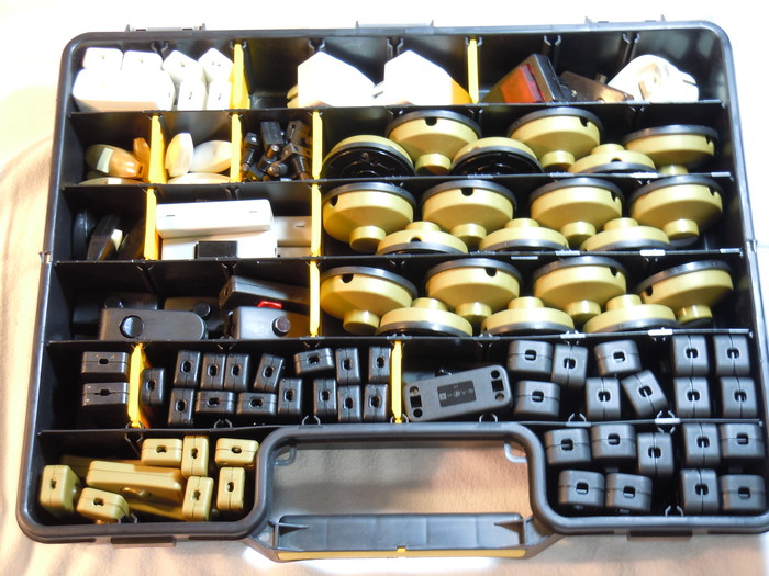 Schnureinbauschalter, Fuß- und Handbetätigung, Steckdosenschalter