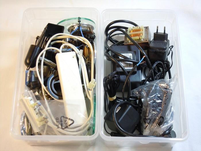 Blocktransformatoren, Niedervoltschienensystemteile