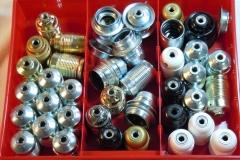 Fassungen E27 - Metall und PVC