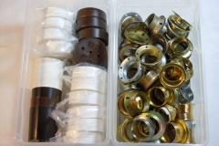 Stellringe E14, Deckenverteilerdose, Baldachin