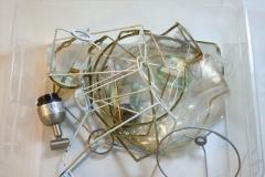 Glas- und Lampenhalter